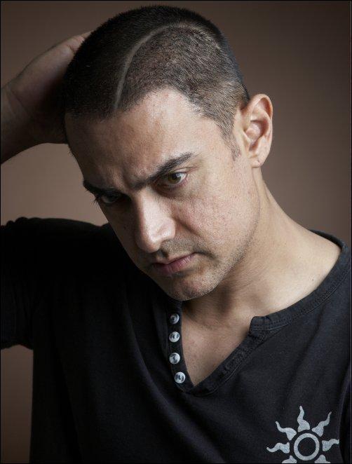 Aamir Khan Latest Hair Style Pic
