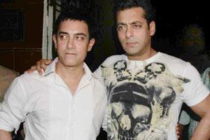 Salman Khan and Aamir Khan Best Photo