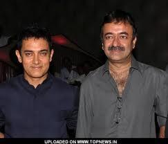 Super Star Aamir With Raju Hirani