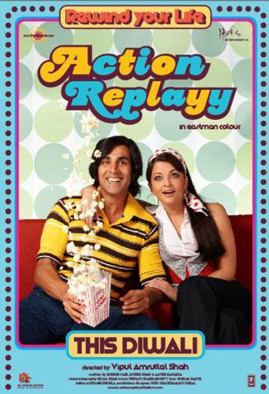 Akshay and Aish Cute Still In Action Replayy
