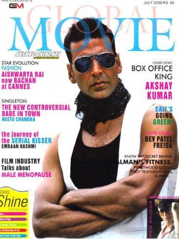 Akshay Kumar Magazine Still