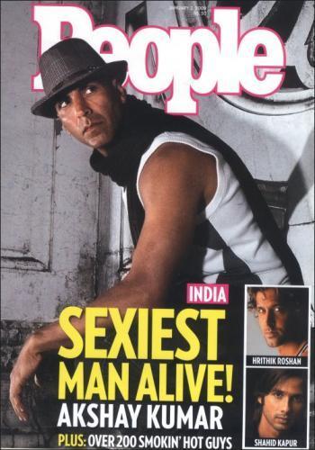 Akshay Kumar People Magazine Still