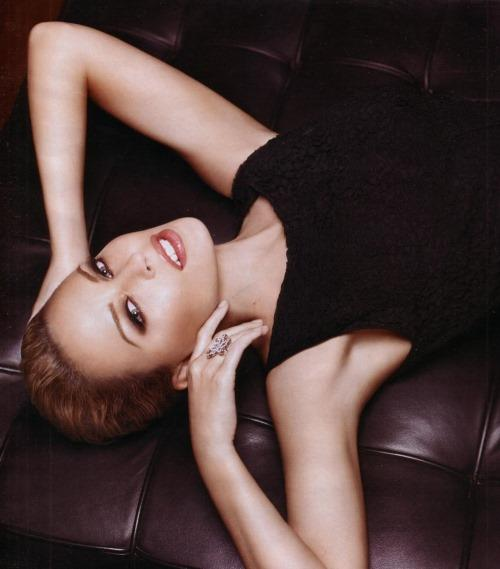 Kylie Minogue Deadly Pose Photo Shoot