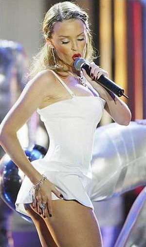 Kylie Minogue Rocking Performance Still