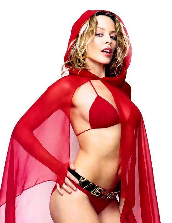 Kylie Minogue Wet Outfit Still