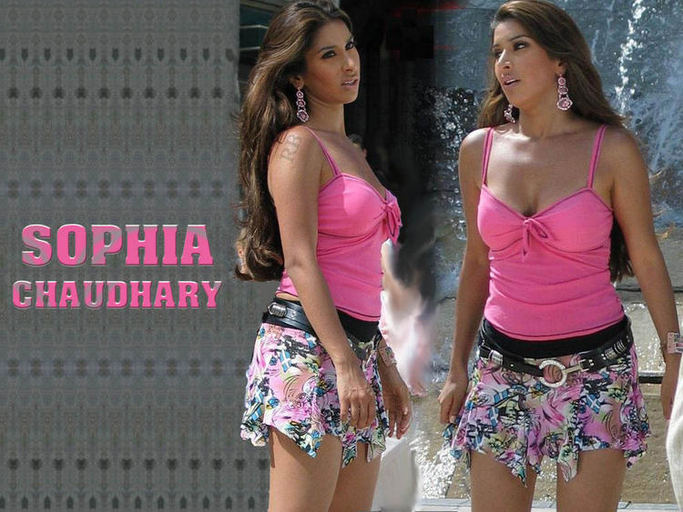 Sophia Chaudhary Bold And Cool Wallpaper