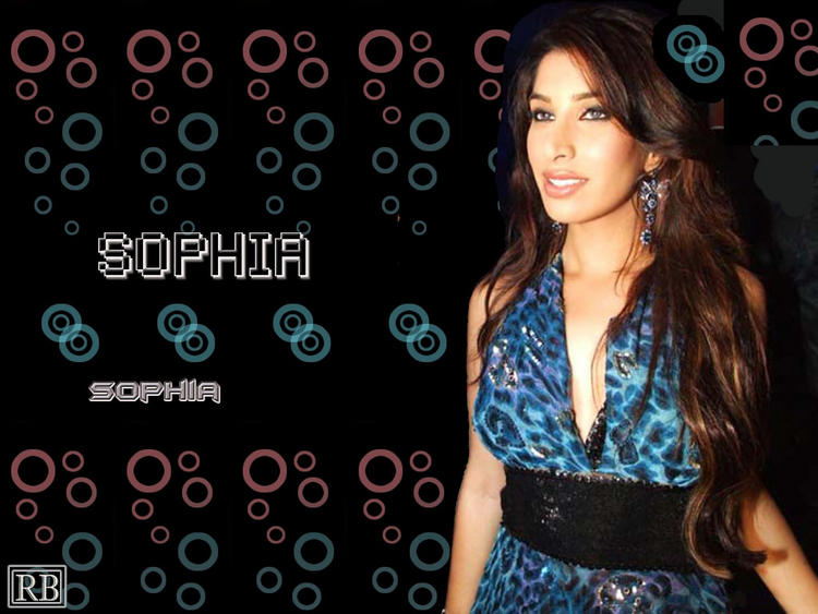 Sophia Chaudhary Gorgeous Look Wallpaper