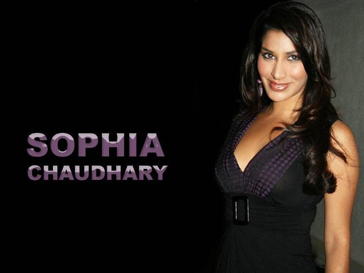 Sophia Chaudhary Hot Eyes Look Wallpaper