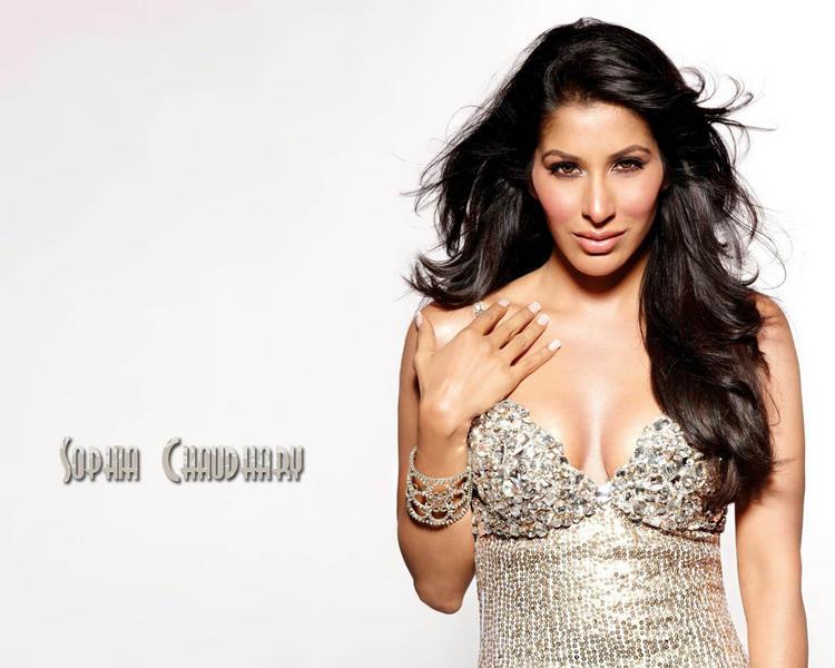Sophia Chaudhary Open Boobs Wallpaper