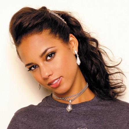 Alicia Keys Hot Eyes Look Wallpaper