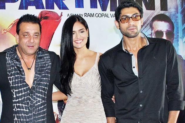 Sanjay Dutt,Nathalia Kaur and Rana Daggubati Promote Department
