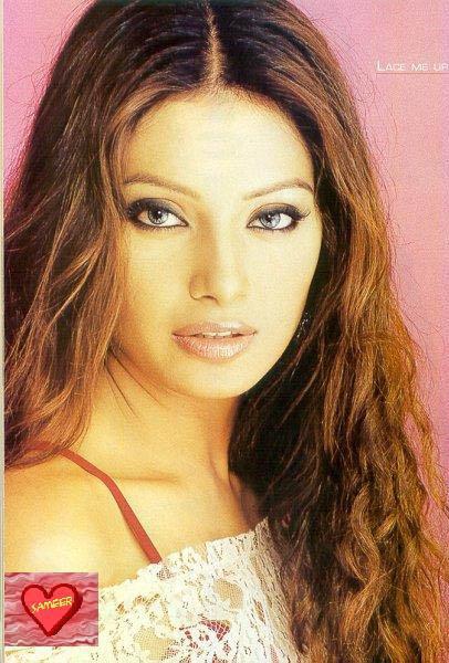 Bipasha Basu Curly Hair Hot Look Still