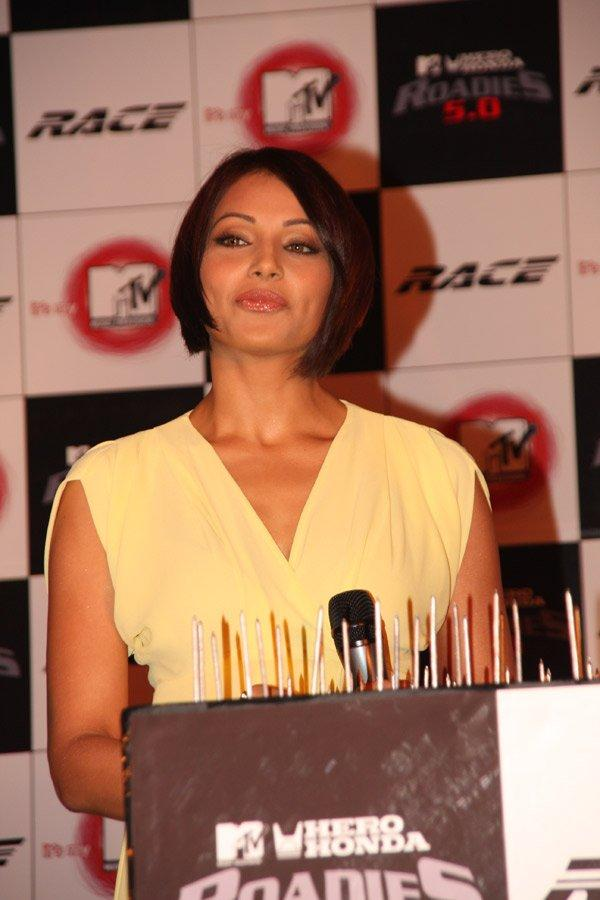 Bipasha Basu at MTV Hero Honda Roadies