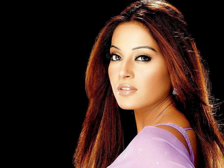 Bipasha Basu Red Hair Sexy Still