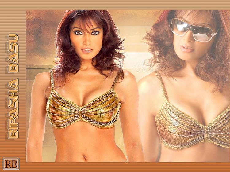 Bipasha Basu Wet Bikini Wallpaper