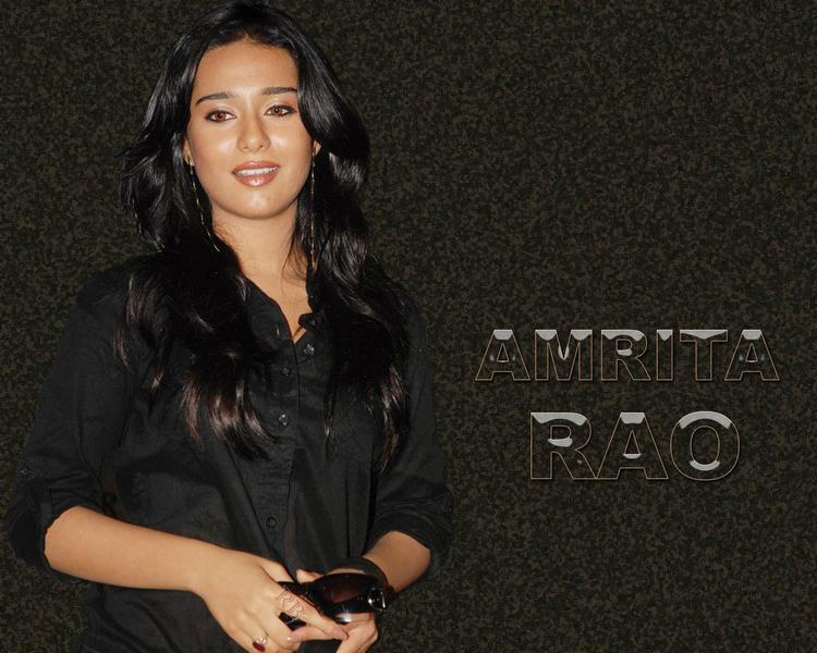 Sexy Actress Amrita Rao Wallpaper