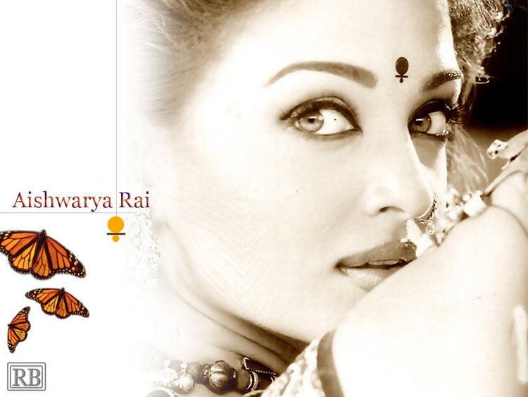 Aishwarya Rai Beautiful Face Look Wallpaper