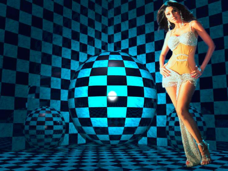 Shilpa Shetty Sexy Body Show Wallpaper