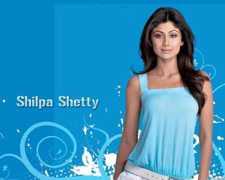Shilpa Shetty Sizzling Face Look Wallpaper
