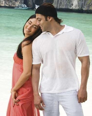Salman Khan And Kareena Kapoor Romance Pics
