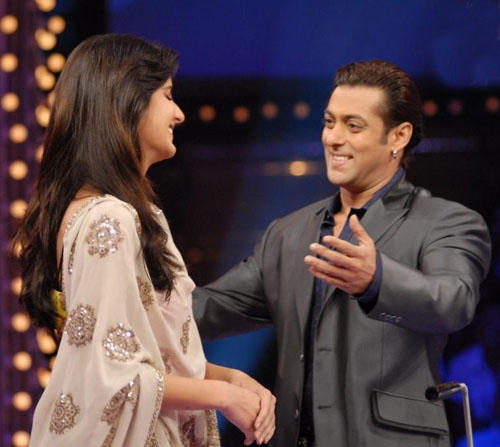 Salman Khan And Katrina Kaif On Dus Ka Dum