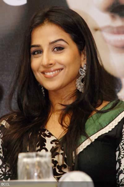 Cute Bollywood Girl Vidya Balan Marie Claire Magazine Stills