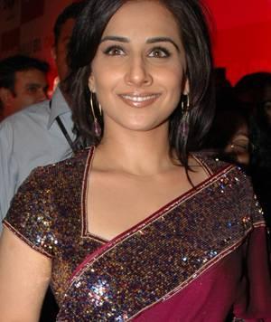 Vidya Balan In Gorgeous Saree Glamour Still