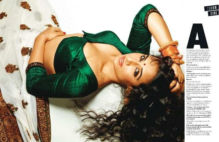 Vidya Balan Hot Pose Photo Shoot