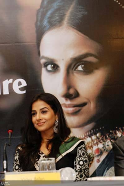 Vidya Balan at The Launch Of Marie Claire Magazine