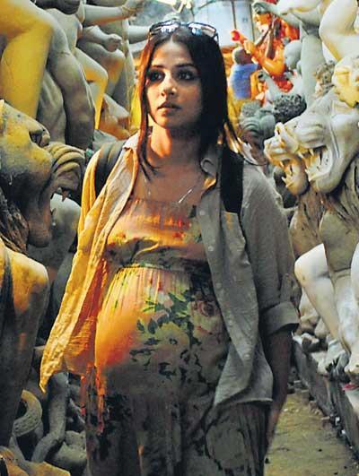 Vidya Balan Pregnant Still In Kahani