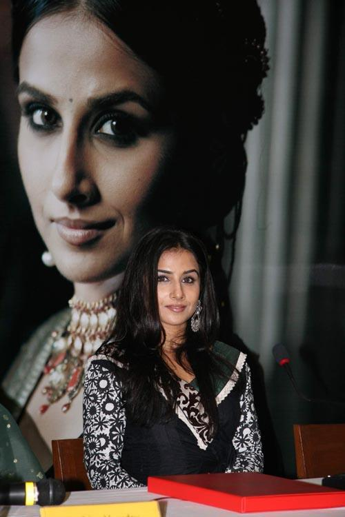 Vidya Balan Sizzling Pic At The Launch Of Marie Claire Magazine