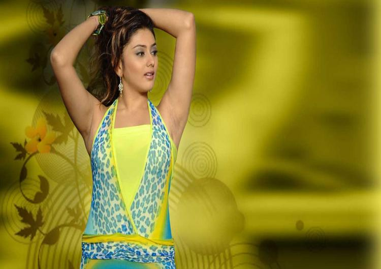 Namitha Sizzling Hot Wallpaper