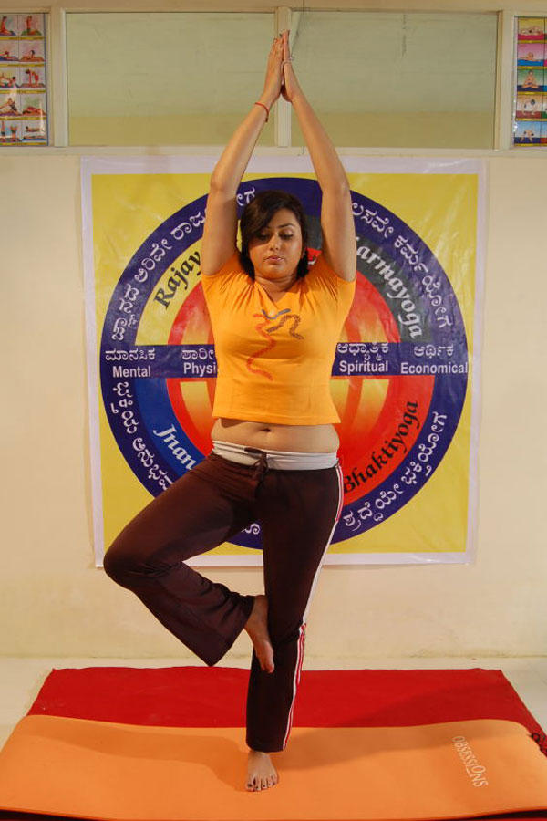 Namitha Yoga Still