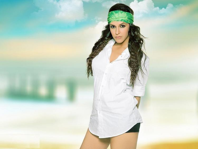 Hot Neha Dhupia Sizzling Still