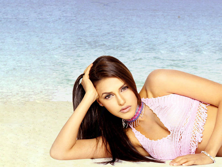Neha Dhupia Spicy Mode Still