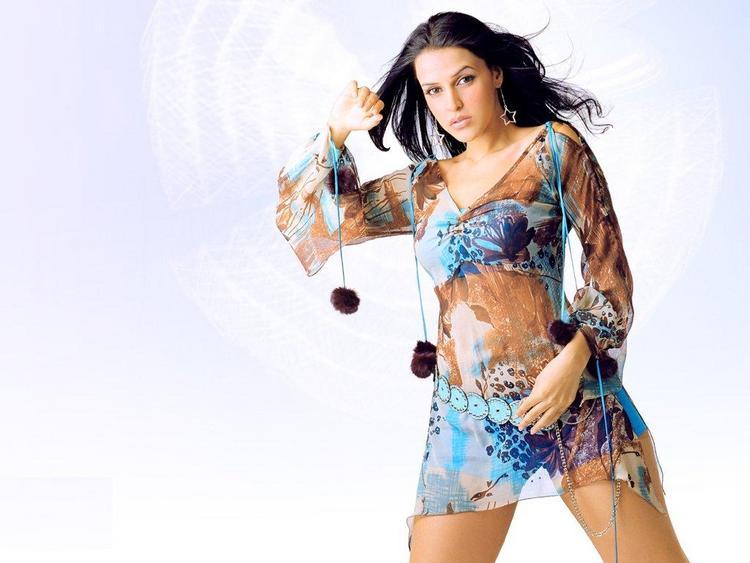 Neha Dhupia Transparent Dress Hot Still
