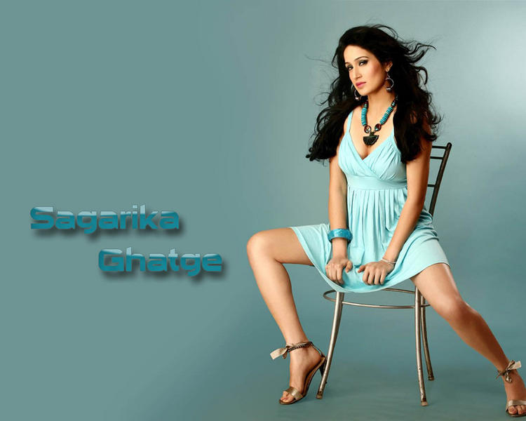 Sagarika Ghatge Milky Legs Show Hot Wallpaper