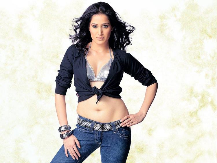 Sagarika Ghatge Sexy Navel Exposing Wallpaper