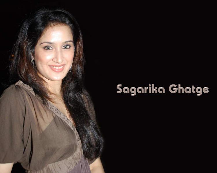Smiling Sagarika Ghatge Cool Wallpaper