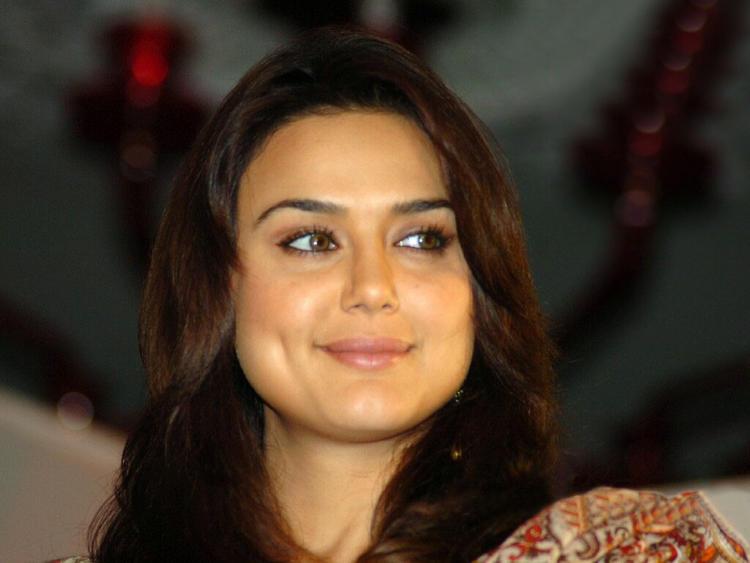 Preity Zinta Beauty Smile Pic