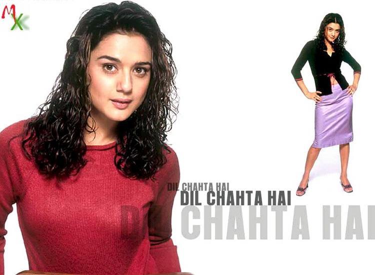 Preity Zinta in Dil Chahta Hai