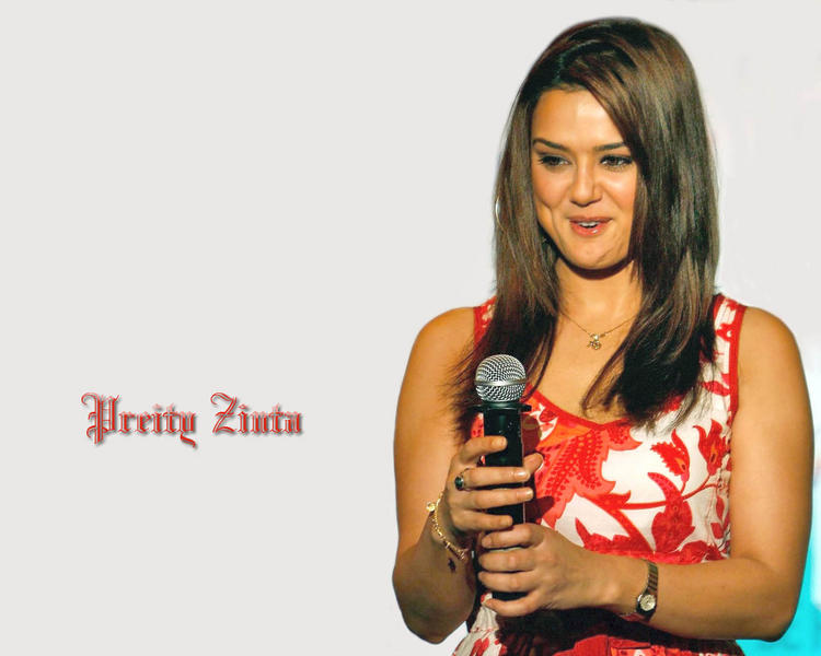Preity Zinta Latest Cute Look Wallpaper