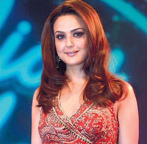 Preity Zinta Red Hair Beauty Still