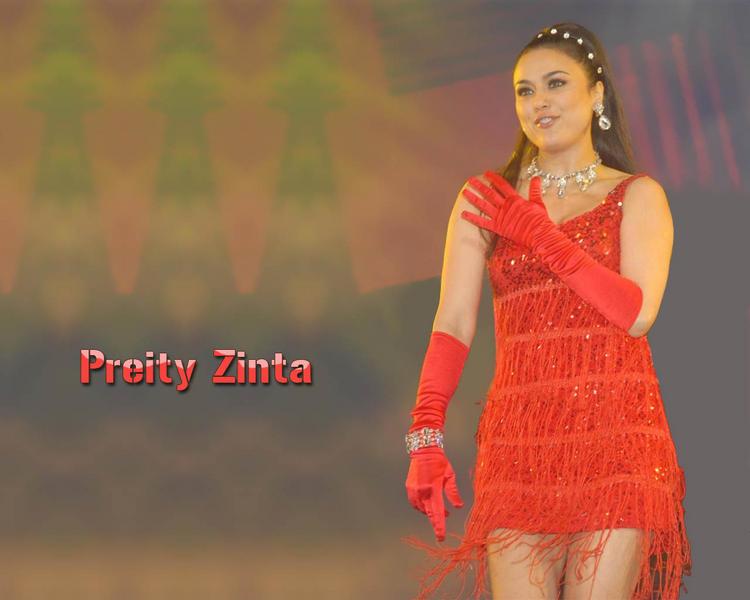 Preity Zinta Sexy Dancing Still