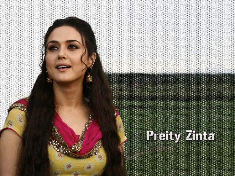 Preity Zinta Simple Look Acting Still