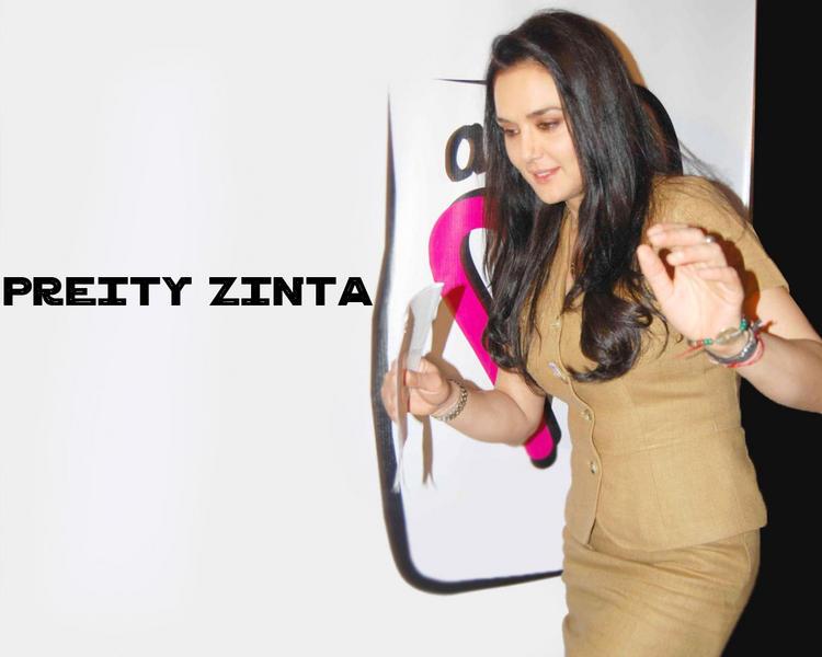 Style Icon Preity Zinta Wallpaper