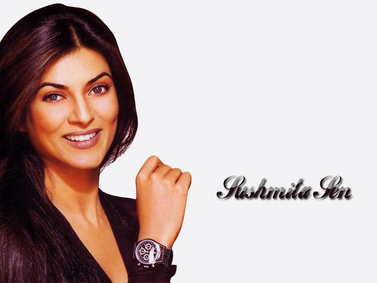 Charming Actress Sushmita Sen Wallpaper