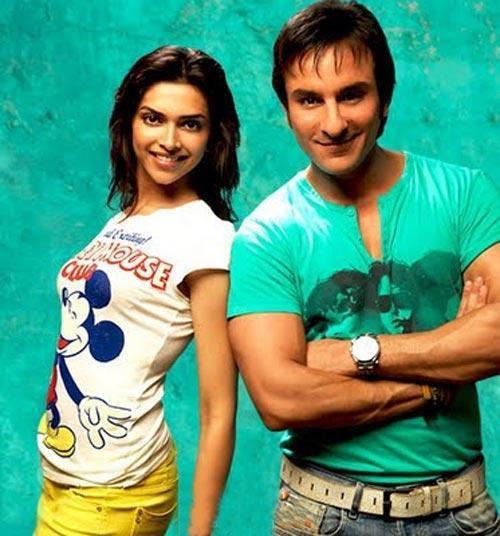 Deepika Padukone and Saif In Love Aaj Kal