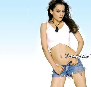 Kangana Ranaut Sexy Navel Expose Photo Shoot