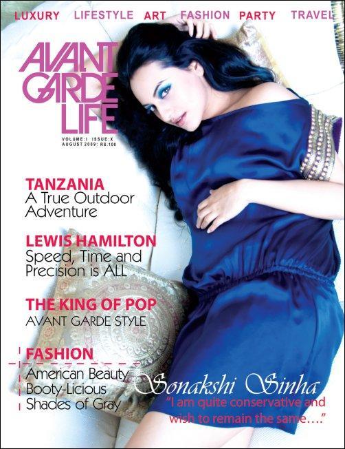 Sonakshi Sinha On Avant Garde Life Magazine